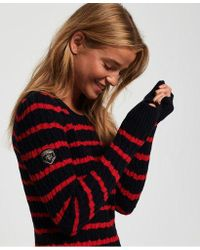 Superdry - Croyde Bay Cable Knit Jumper - Lyst