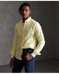 Superdry - Classic Twill Lite Long Sleeve Shirt - Lyst