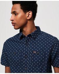 Superdry Indigo Riveter Overhemd - Blauw