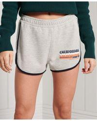 Superdry Short en jersey Cali - Gris