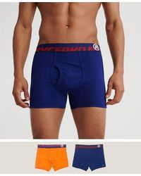 Superdry Speed Sport Boxer Double Pack - Blue
