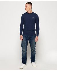 Superdry Copperfill Loose Jeans - Blue