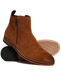 Superdry Trenton Zip Boot, Botas Clasicas para Hombre
