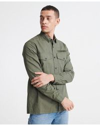 Superdry - Field Edition Long Sleeve Shirt - Lyst