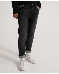 Superdry Tyler Slim Flex Denim Jeans - Black