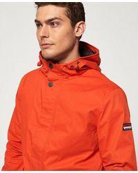 Superdry New York Harbour Coat - Orange