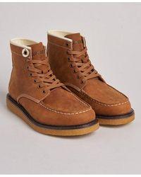 Superdry Detroit Boots - Brown