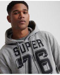 Superdry Mono Classic Hoodie - Gray