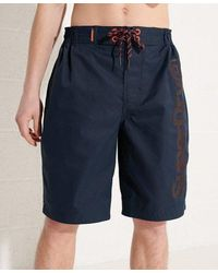 Superdry Classic Board Shorts - Blue