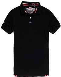 fc8f5e8a The North Face Colour Block Polo Shirt in Black for Men - Lyst