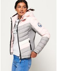 Superdry - Offshore Chevron Fuji Jacket - Lyst