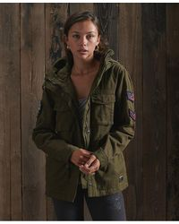 Superdry Parka Bling Relaxed Rookie - Multicolore