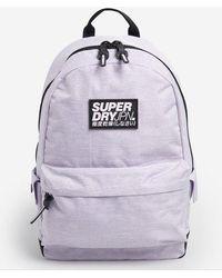 Superdry Classic Montana Rucksack - Purple