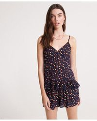Superdry Summer Lace Cami Top - Blue