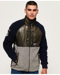 Superdry - Mountain Sherpa Block Track Top - Lyst