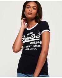 Superdry - Shirt Shop Vintage Tour T-shirt - Lyst
