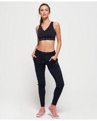 Superdry Active Studio Luxe Sweatpants - Blue