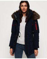 Superdry - Premium Down Alps Coat - Lyst