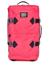 Superdry - Montana Large Check In Case - Lyst