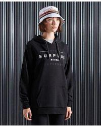 Superdry Surplus Hoodie - Black