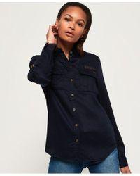 Superdry - Karina Embroidered Shirt - Lyst