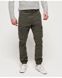 Superdry International Recruit Grip Cargo Trousers - Metallic