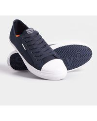Superdry Low Pro Trainers - Blue