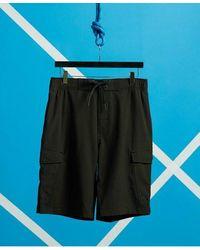 Superdry Worldwide Cargo Board Shorts - Black