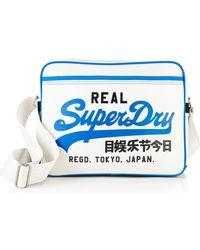 Superdry - Mashed Up Alumni Bag - Lyst