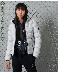 Superdry Radar Sports Puffer Jacket - Multicolor