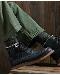 Superdry Dry - Men's Detroit Boots - Black
