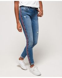 Superdry Cassie Skinny Jeans - Blue