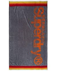 Superdry Sun Rider Towel - Grey