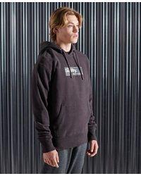 Superdry Sudadera con capucha y logo Core Transit - Morado