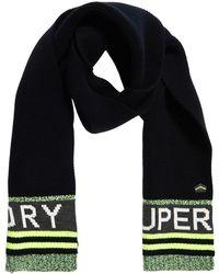 Superdry - Redford Logo Scarf - Lyst