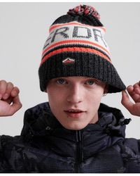 Superdry Beanie /& Bobble Hats Assorted Styles