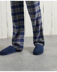 Superdry Mule-pantoffel - Blauw