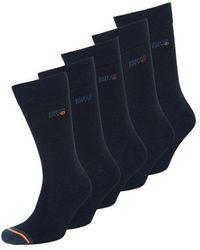 Superdry 5 Pack Socks - Blue