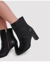 Superdry The Edit Sleek High Boots - Black
