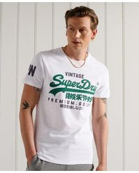 Superdry Vintage Logo T-shirt - White