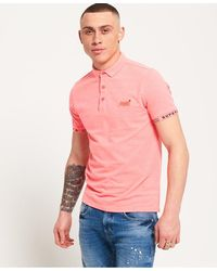 Superdry - City Jaquard Pique Polo Shirt - Lyst