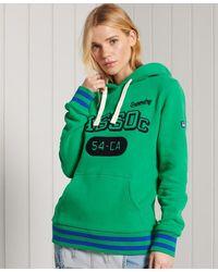 Superdry Collegiate Athletic Union Hoodie - Groen