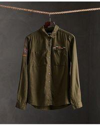Superdry - Delta Military Shirt - Lyst