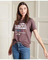 Superdry T-shirt classique Rainbow Pop en édition limitée - Multicolore