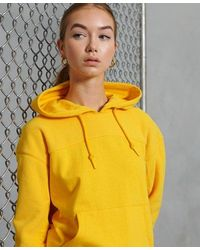 Superdry Sportstyle Polar Hoodie - Yellow