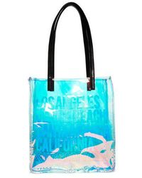Superdry - Iridescent Jelly Shopper Bag - Lyst