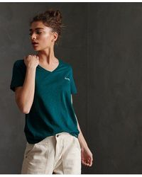 Superdry - Organic Cotton Essential V-neck T-shirt - Lyst