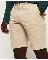 Superdry Chino Shorts - Natural