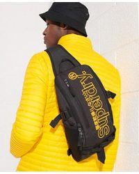 Superdry Detroit Hardy Tarp Bag - Black