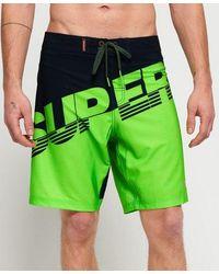 Superdry Printed Cork Flip Flop - Green